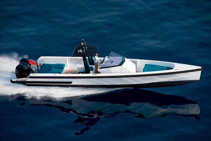 Скоростной катер-круизер Tender X от Wally Yachts