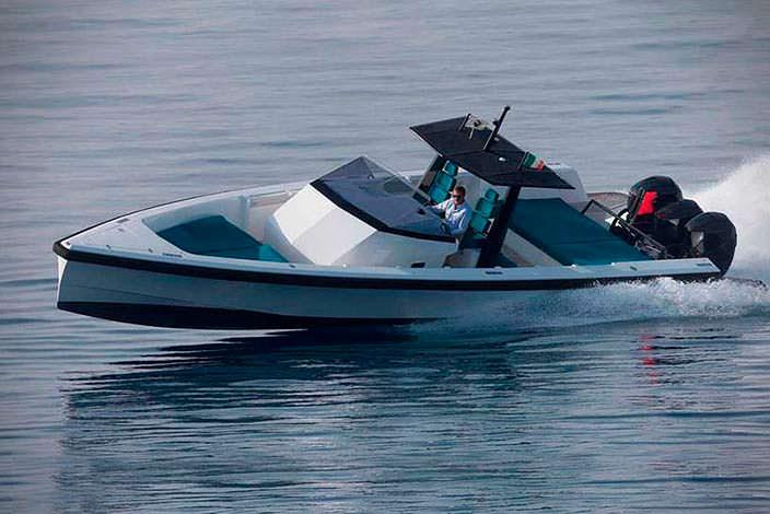 Скоростной катер-тендер Tender X от Wally Yachts