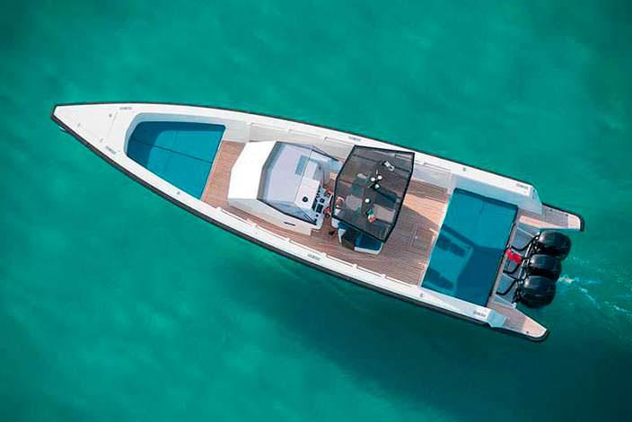 Скоростной прогулочный катер Tender X от Wally Yachts