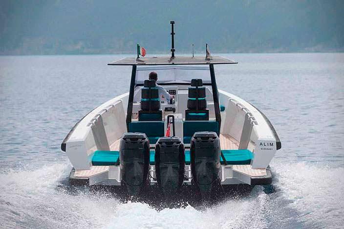 Скоростной прогулочный катер Wally Tender X мощностью 1200 л.с.