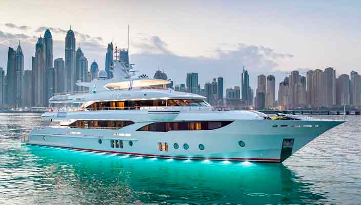 Gulf Craft выпустила суперъяхту Sehamia длиной 47,6 м | фото