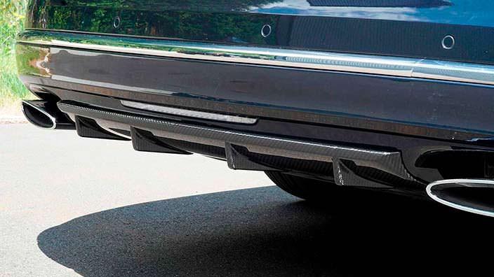 Углеродный диффузор Bentley Mulsanne от Mansory