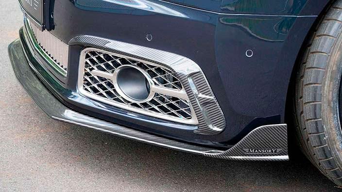 Углеродный сплиттер Bentley Mulsanne от Mansory