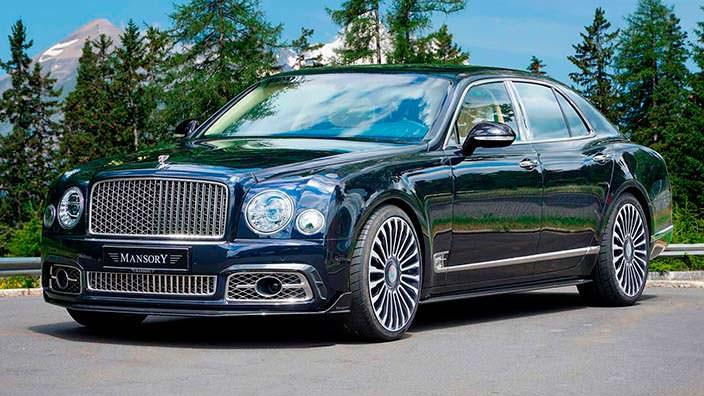 Новый Bentley Mulsanne. Тюнинг от Mansory