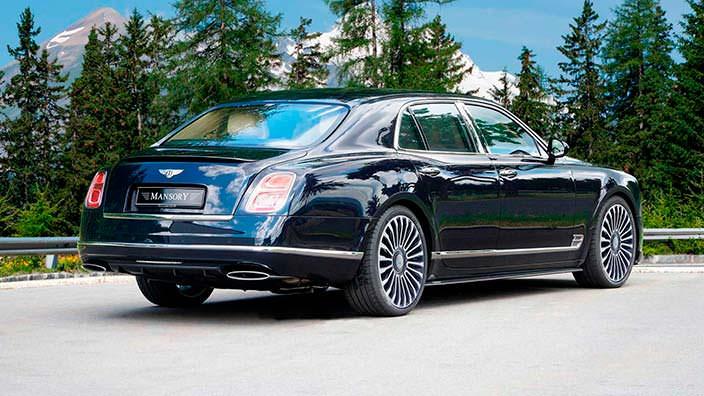 Тюнинг Bentley Mulsanne от Mansory