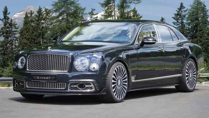 В Mansory прокачали новый Bentley Mulsanne | фото