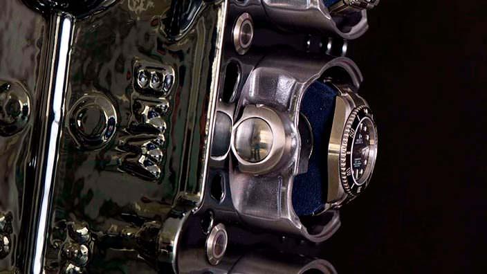 Часы в местах цилиндров двигателя BMW M52