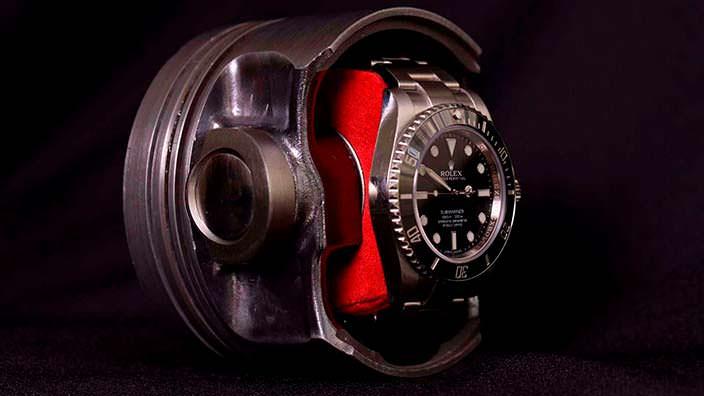 Механизированная шкатулка для часов с автоподзаводом Vi52