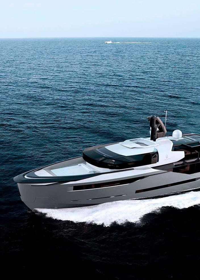 Турецкая яхта AEON 380 от Scaro Design