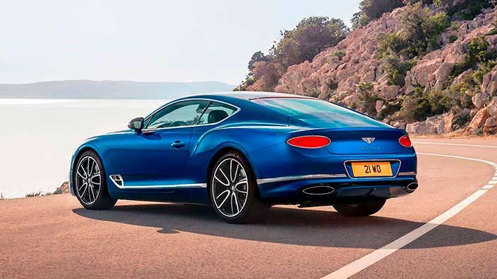 Третье поколение Bentley Continental GT