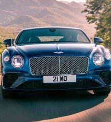 Вышел новый Bentley Continental GT 2018 | фото, видео