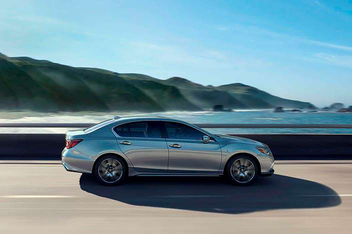 Новая Acura RLX 2018