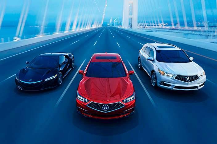 Рестайлинг Acura RLX 2018 года