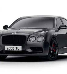 Bentley перешел на черную сторону с Flying Spur Black Edition