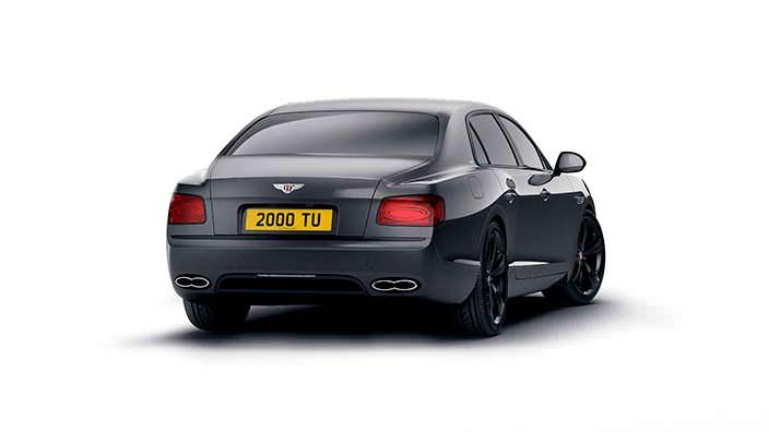 Представительский седан Bentley Flying Spur V8 S Black Edition