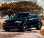 "BMW X4 M40i на 20"" дисках Vossen Hybrid Forged VFS-10 | фото"