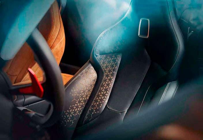 Сиденья BMW Z4 Concept. 2017 год