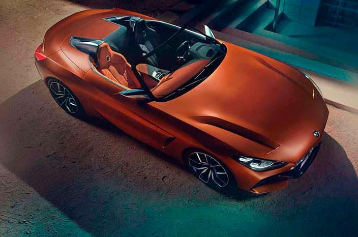 Новая BMW Z4 Concept. 2017 год