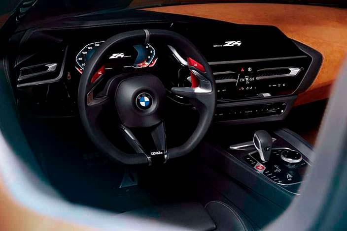 Фото салона BMW Z4 Concept. 2017 год
