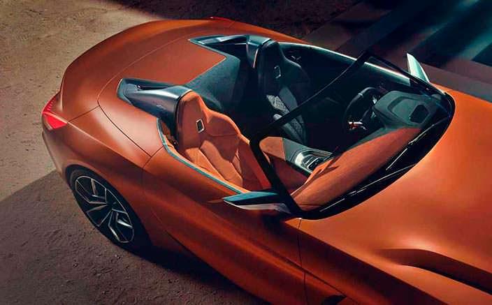 Дизайн интерьера BMW Z4 Concept. 2017 год
