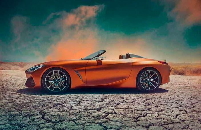 Новый родстер BMW Z4 Concept. 2017 год