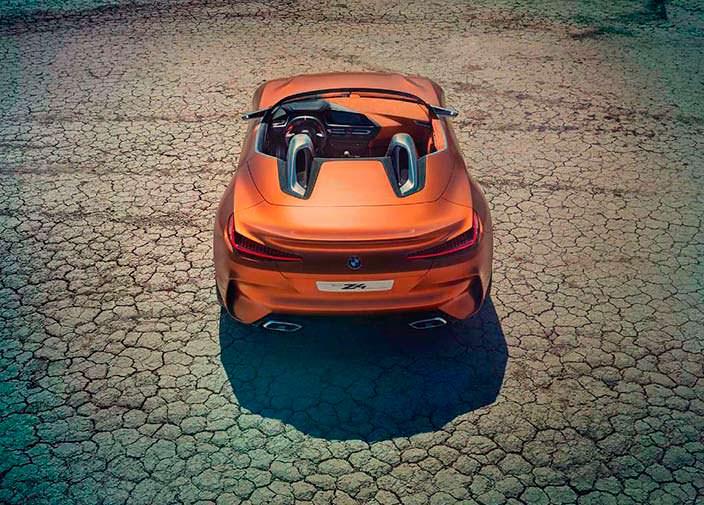 Крутой родстер BMW Z4 Concept. 2017 год
