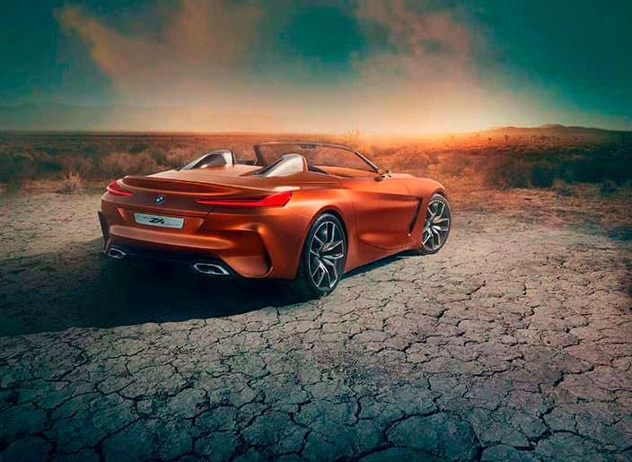 Двухдверный родстер BMW Z4 Concept. 2017 год