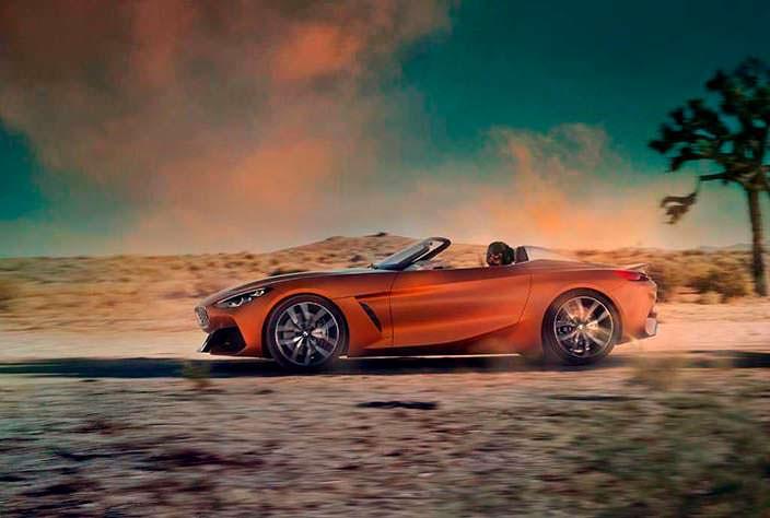 Агрессивная BMW Z4 Concept. 2017 год