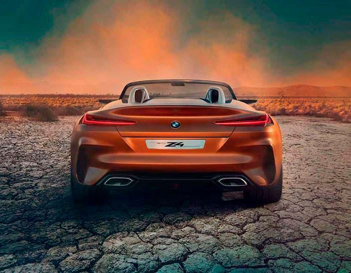 Прототип BMW Z4 нового поколения. 2017 год