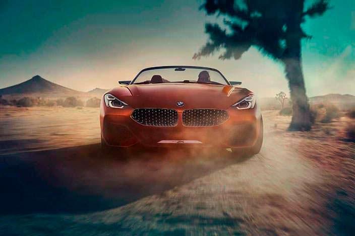 Концепт BMW Z4 нового поколения. 2017 год