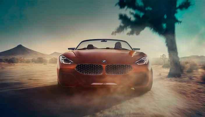 Вышел новый родстер BMW Z4. Пока лишь концепт | фото