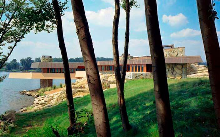 Вилла Massaro House на частном острове Петра от Фрэнка Ллойда