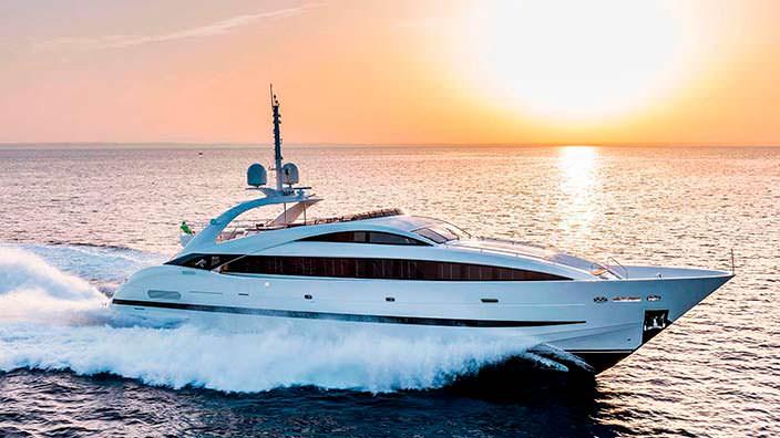 Clorinda: суперъяхта длиной 36,45-метра от ISA Yachts