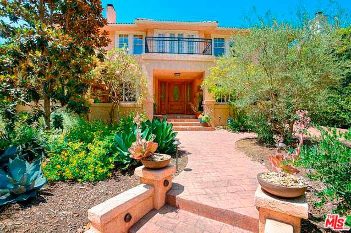 Дом Альфреда Молины в Западном Голливуде