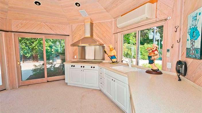 Дизайн кухни в доме Эминема