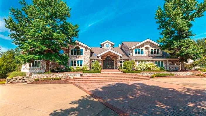 Дом Эминема в Рочестер Хилс, Мичиган, США