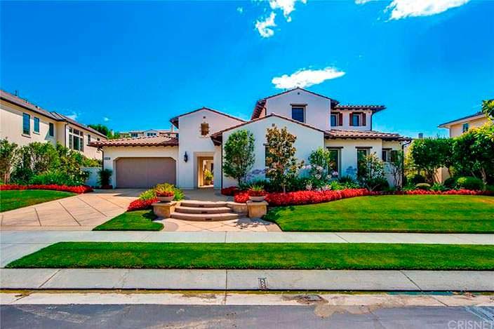 Дом актера Кена Джонга в Калифорнии
