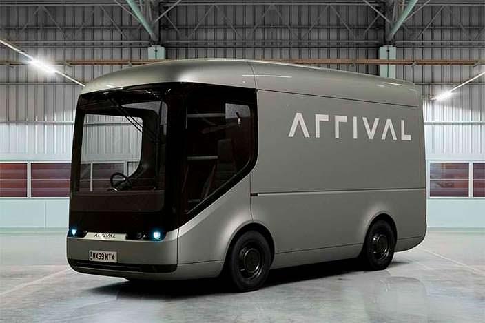 Электрический фургон почтовой службы Royal Mail от Arrival