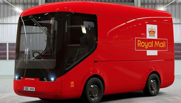 Английская почтовая служба Royal Mail электрифицирует автопарк