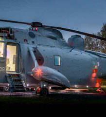 Элитный отель в салоне вертолета открылся в Шотландии
