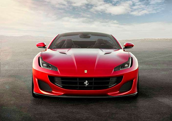Новый суперкар начального уровня Ferrari Portofino
