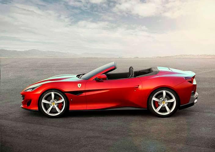 Новый кабриолет Ferrari Portofino вместо California T