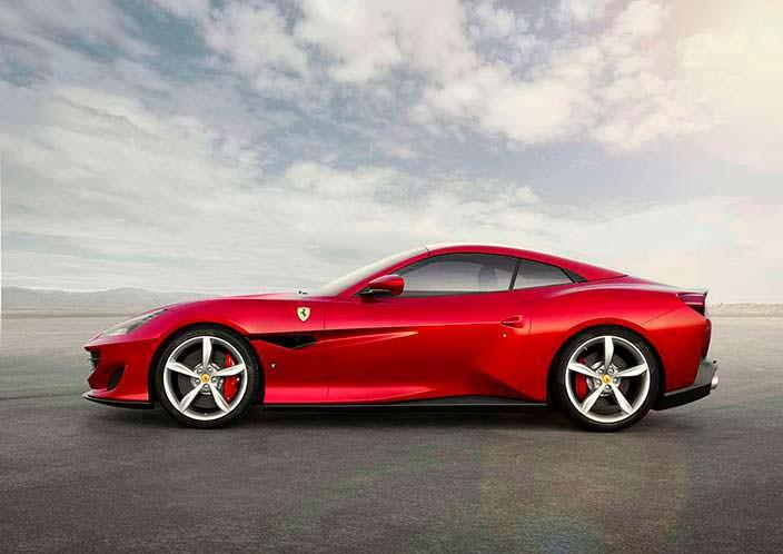 Суперкар Ferrari Portofino 2018