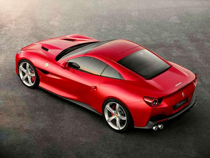 Суперкар с жесткой складной крышей Ferrari Portofino