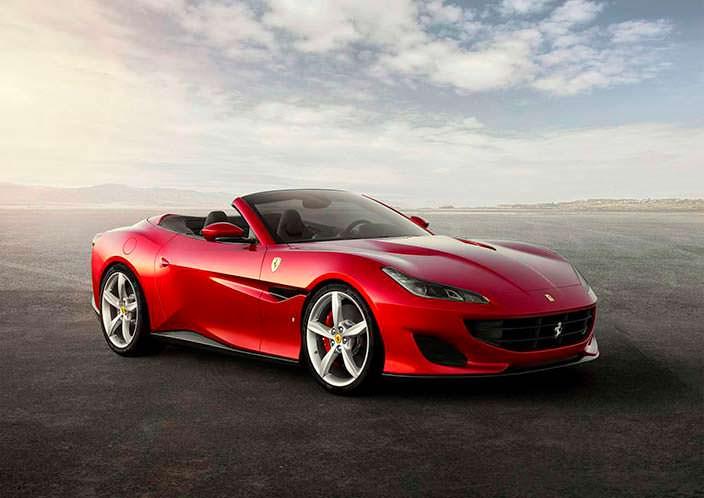 Новая Ferrari Portofino - замена для California T