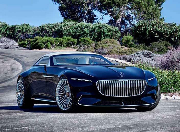 Кабриолет мечты Mercedes-Maybach 6 Concept