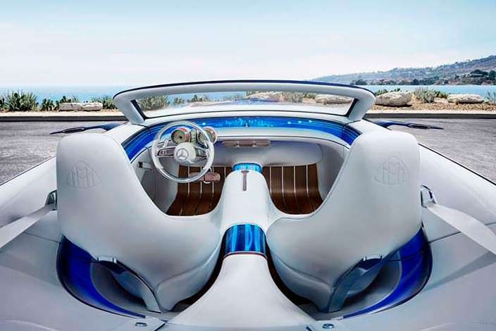 Фото салона Vision Mercedes-Maybach 6 Cabriolet Concept