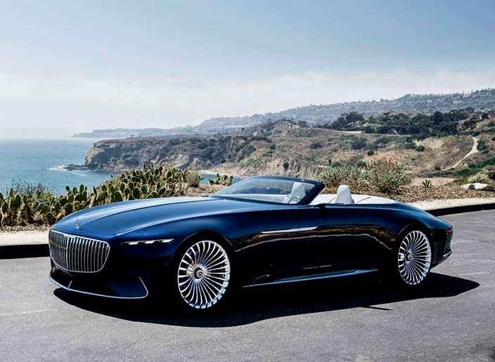 Фото Vision Mercedes-Maybach 6 Cabriolet Concept