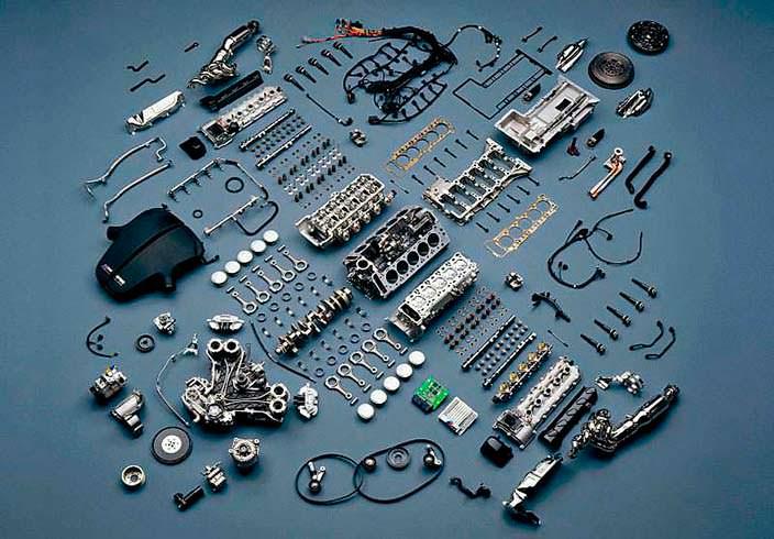 Фото разобранного двигателя