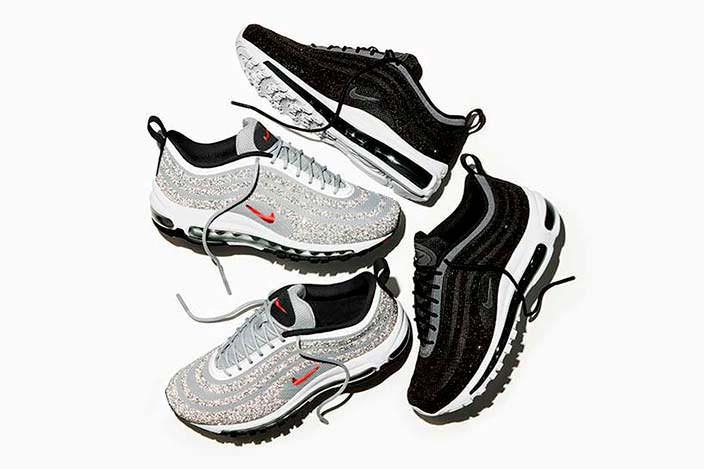 Женские кроссовки с кристаллами Swarovski от Nike